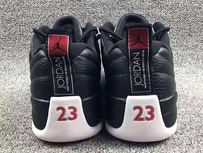 Playoffs Air Jordan 12 Low 2017