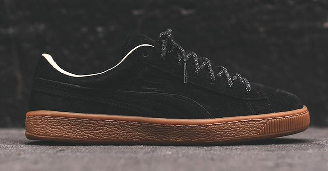 Puma Basket Classic Winterized Black Gum