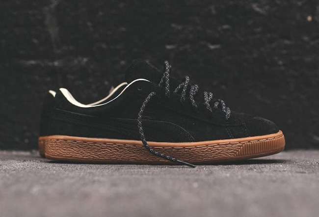 the best attitude 04569 86c81 Puma Basket Classic Winterized Black Gum | SneakerFiles