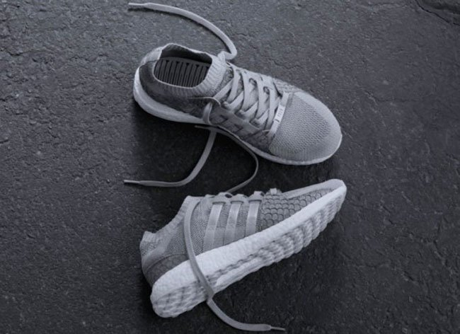 Pusha T adidas EQT Boost King Push Greyscale