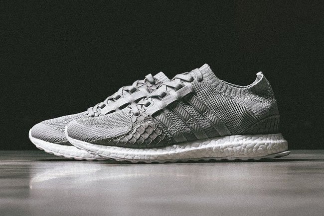 new style 13473 ccb0b Pusha T adidas EQT Boost King Push Greyscale | SneakerFiles