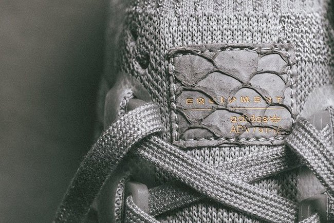 new style d5270 3aa54 Pusha T adidas EQT Boost King Push Greyscale | SneakerFiles