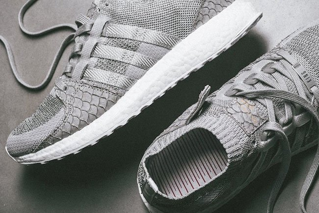 new style 487e0 a0659 Pusha T adidas EQT Boost King Push Greyscale | SneakerFiles