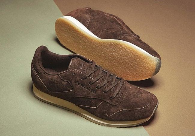 Reebok Classic Leather Crepe Sole