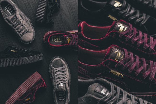 Rihanna x Puma Creeper Velvet Collection