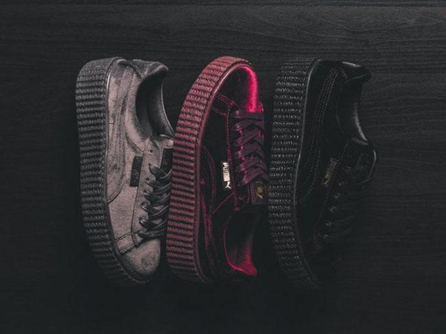 Rihanna x Puma Creeper Velvet Collection