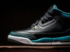 Rio Teal Air Jordan 3 GS Black