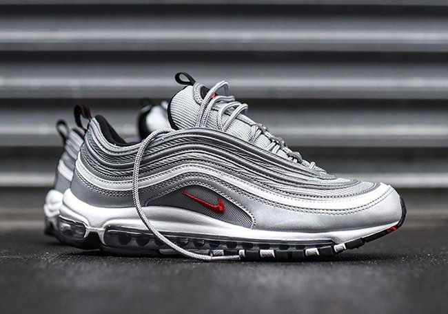 a14acd94bb new zealand nike air max 97 bw reflective db0ec 52083; shop silver bullet nike  air max 97 og 2016 3e51d 70128
