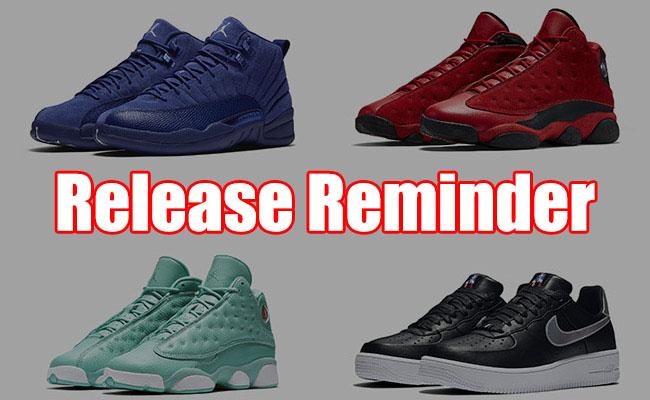 Sneakers Release November 10 12 2016