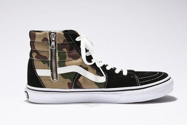 Sophnet X Vans Sk8 Hi Classic Camo Sneakerfiles