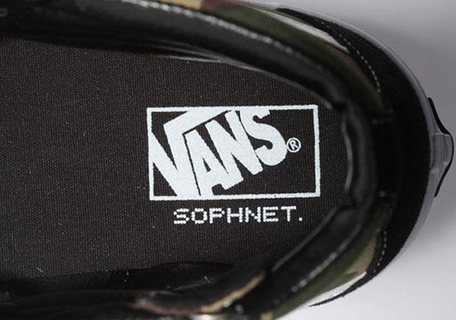 SOPHNET. x Vans SK8-Hi Classic Camo