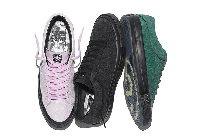 Stussy x Converse One Star 74 Collection