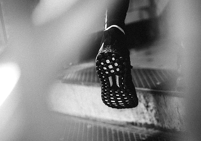 Triple Black adidas Ultra Boost Race