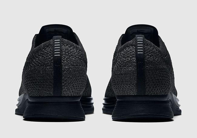 Triple Black Nike Flyknit Racer