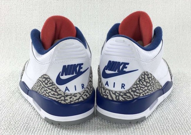 True Blue Air Jordan 3 OG November 2016