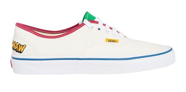 Tyler the Creator Vans Authentic Camp Flog Gnaw