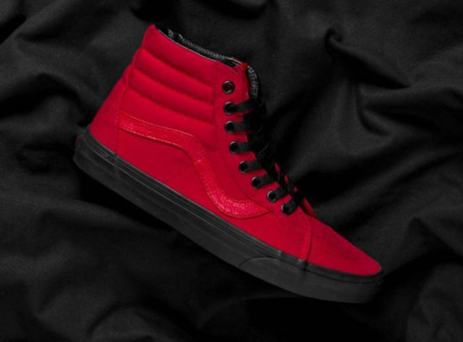 5b03fee713 Vans SK8-Hi Reissue Racing Red | SneakerFiles