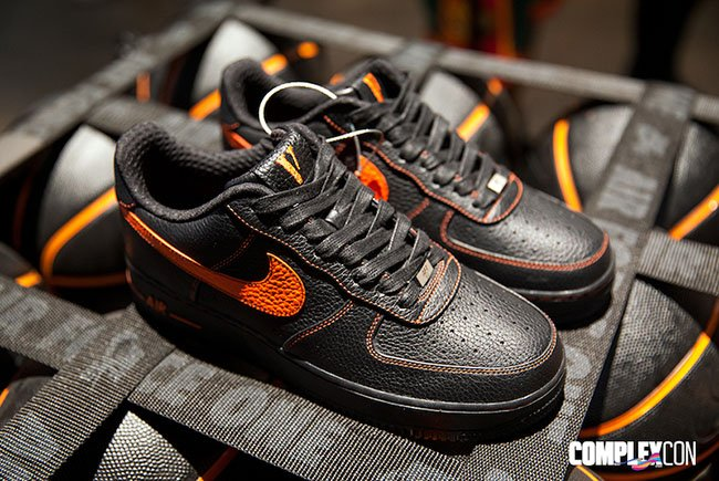 200 pairs of the vlone x nike air force 1 low is releasing in london