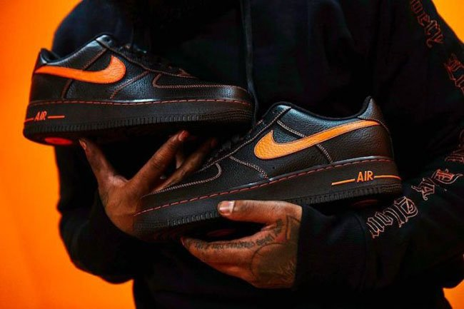 a5a1713b5ec VLONE x Nike Air Force 1 Low Release Date