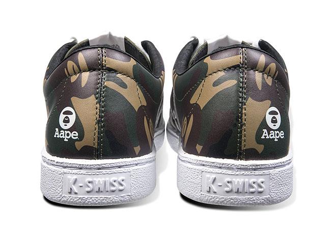 AAPE x K-Swiss Classic 66 Release Date