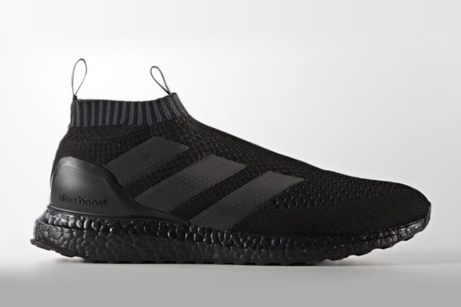 finest selection 64b20 1ae03 adidas Ace 16 PureControl Ultra Boost Triple Black