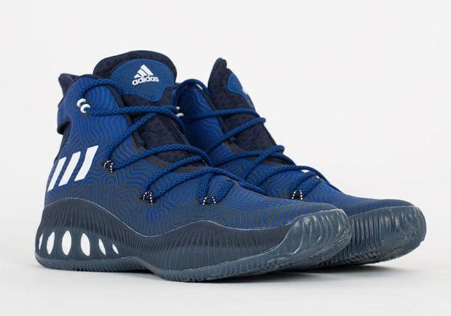 adidas Crazy Explosive Blue White