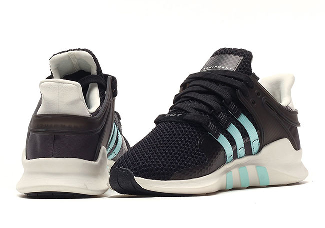 adidas EQT ADV Support Light Teal Team Orange
