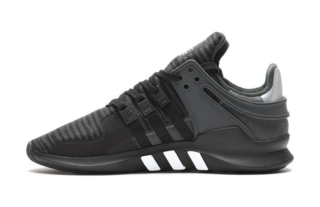 Closer Look Pusha T adidas EQT Guidance Running Black Sneaker