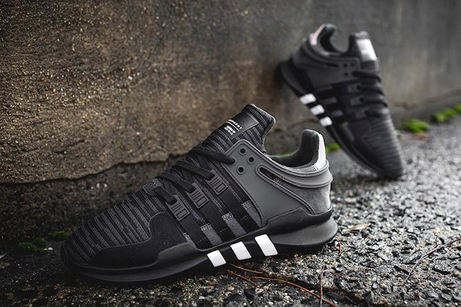 new arrival 2554b 25a87 Cheap EQT Black Shoes, Buy Adidas EQT Boost Black Online 201