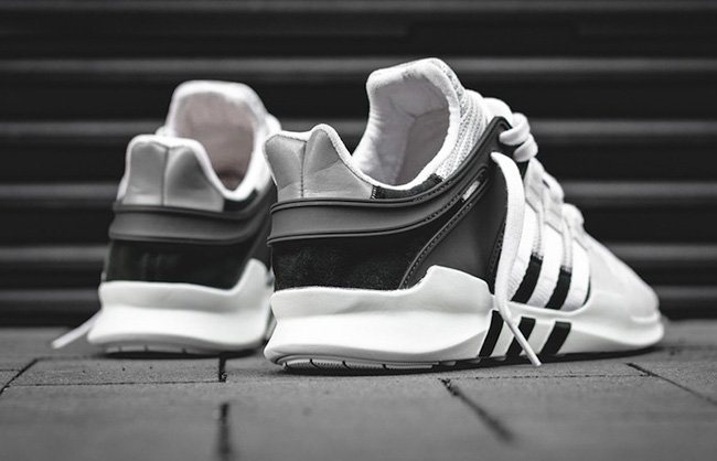 adidas EQT Support ADV Primeknit White Black