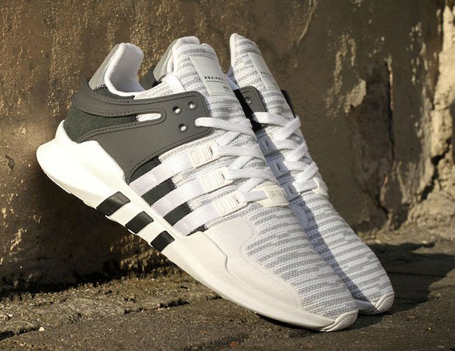 Adidas Eqt White And Black