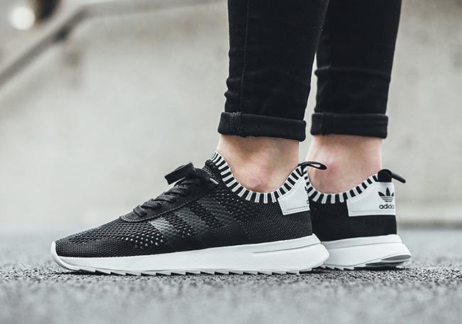 adidas Flashback Primeknit Women Black White