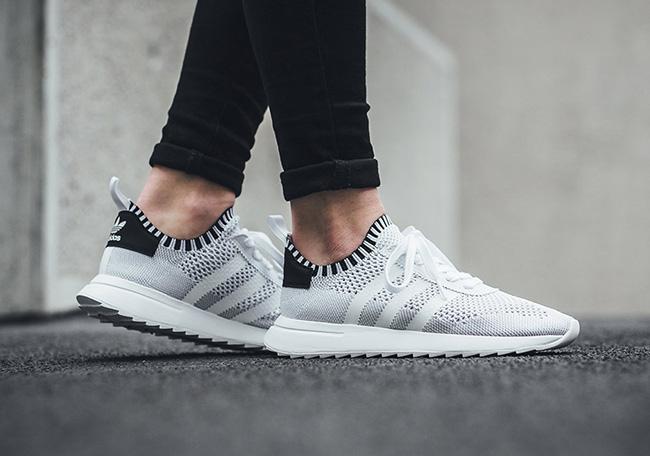 adidas Flashback Primeknit Women White Black