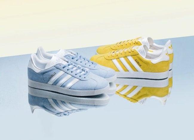 adidas Gazelle Yellow Clear Sky | SneakerFiles