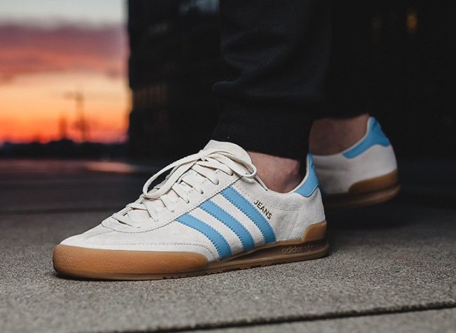adidas Jeans Clear Sky Gum S79998 | SneakerFiles