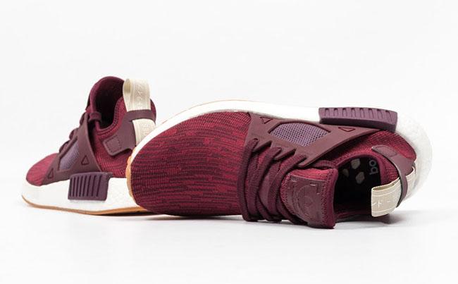 adidas NMD XR1 Primeknit Maroon Gum