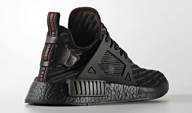 adidas NMD XR1 Triple Black Release