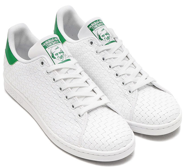 adidas Stan Smith Woven Pack White Green
