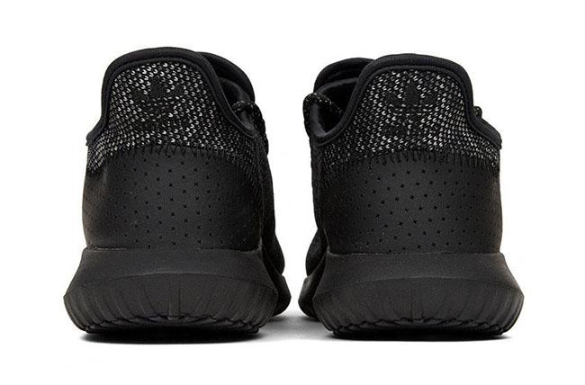 Adidas Tubular Shadow Black Leather