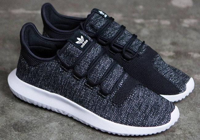 adidas Tubular Shadow Knit Black White