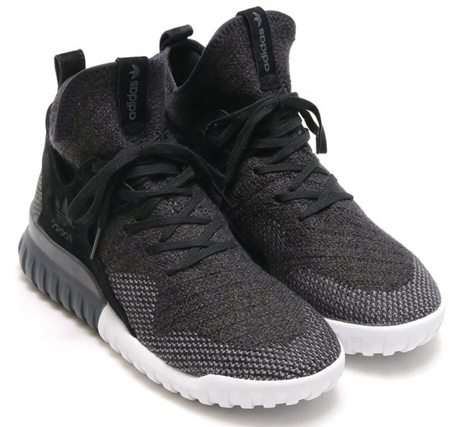 womens black adidas tubular dawn trainers schuh