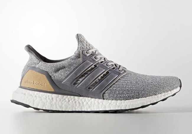 785a2993115 adidas Ultra Boost 3.0 Grey Leather Cage BB1092