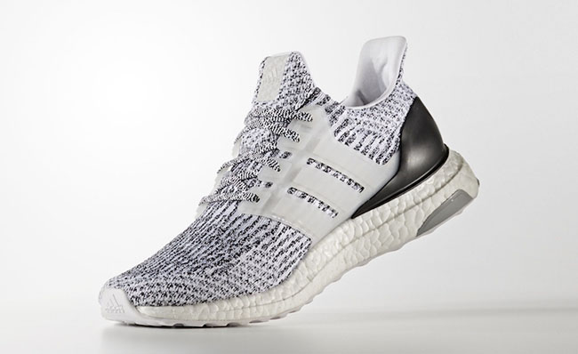 Enjoy new UA Ultra Boost 3.0 Oreo White Black hot sale with fast