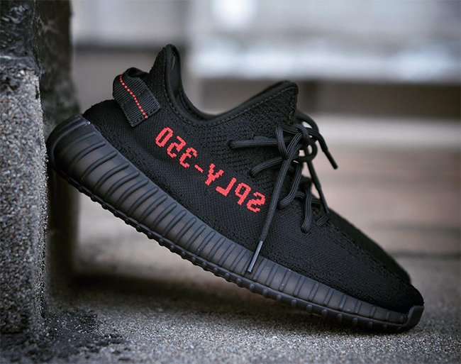 new product 1e8b8 ee19f adidas Yeezy Boost 350 V2 Black Red Bred