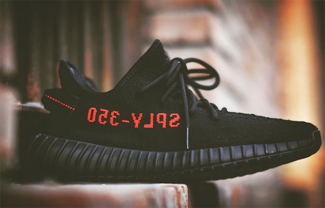 adidas Yeezy Boost 350 V2 Black Red Bred