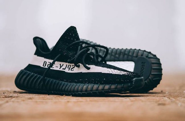adidas Yeezy Boost 350 V2 Core White Black Store Listings