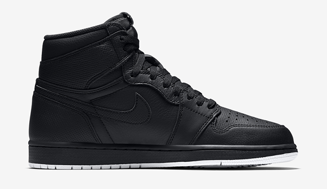 Air Jordan 1 Black White 555088-002