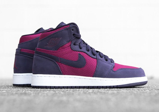 Air Jordan 1 GS True Berry