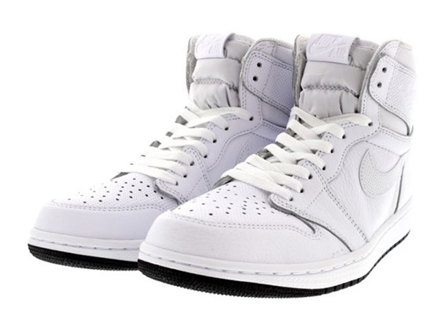 Air Jordan 1 High OG White Black 555088-100