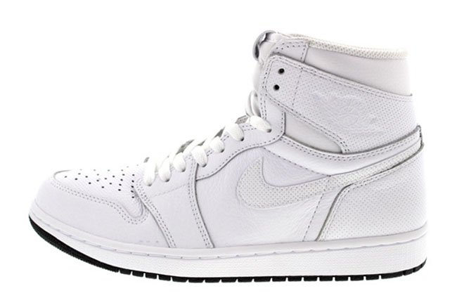 official photos 4df91 1c01b Air Jordan 1 High OG White Black 555088-100